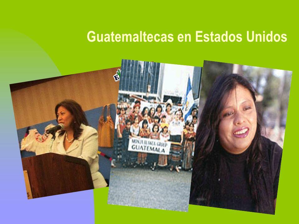 Guatemaltecas en Estados Unidos