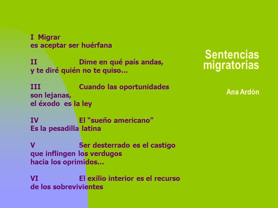 Sentencias migratorias Ana Ardón