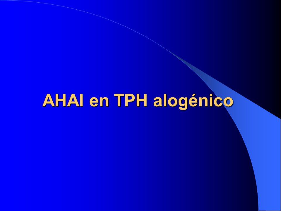 AHAI en TPH alogénico