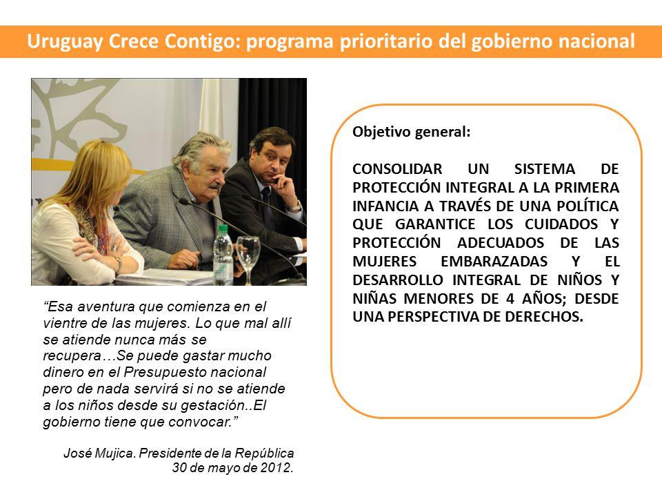 Uruguay Crece Contigo: programa prioritario del gobierno nacional