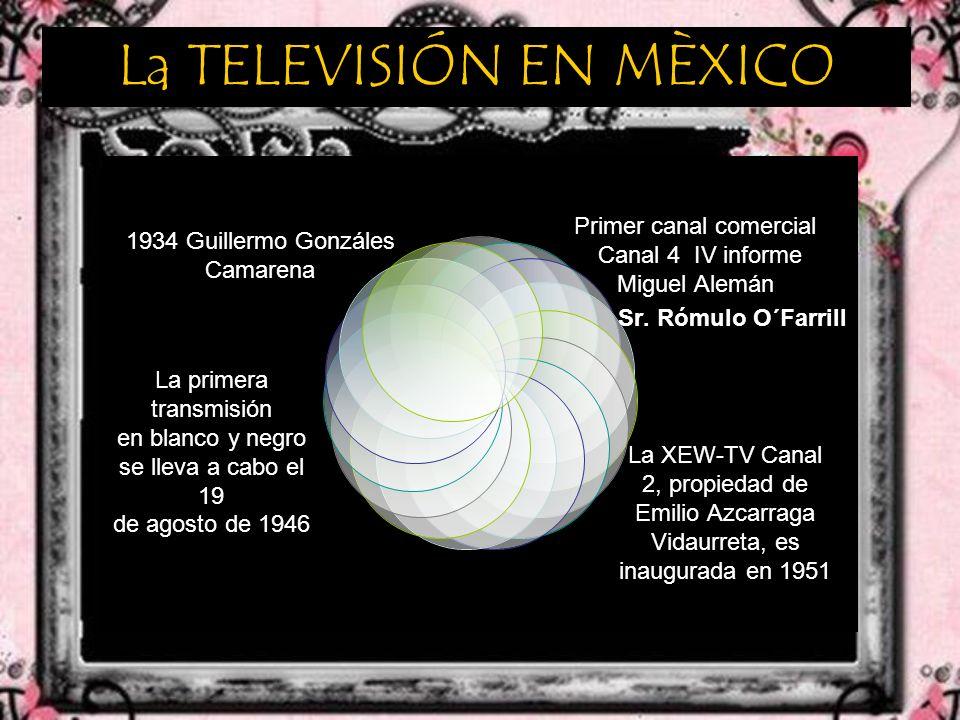 La TELEVISIÓN EN MÈXICO