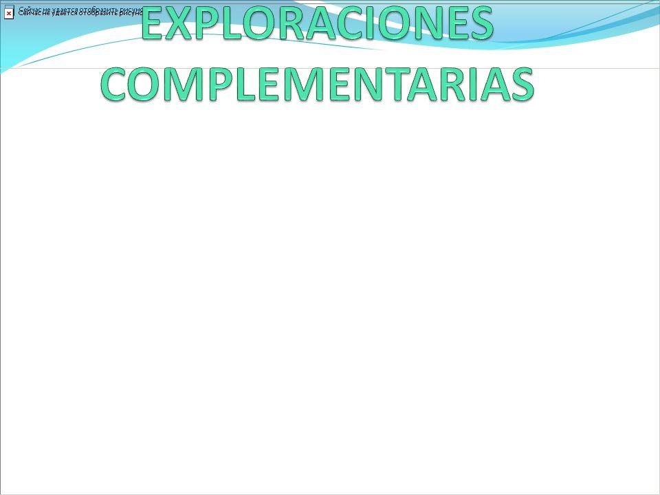 EXPLORACIONES COMPLEMENTARIAS
