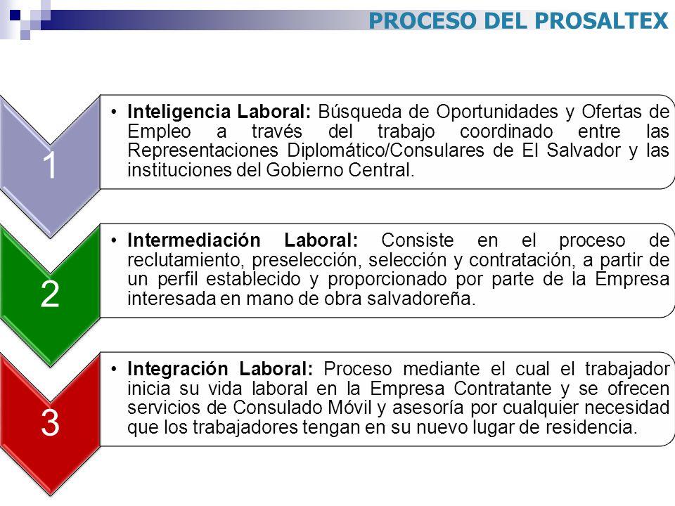 PROCESO DEL PROSALTEX 1.