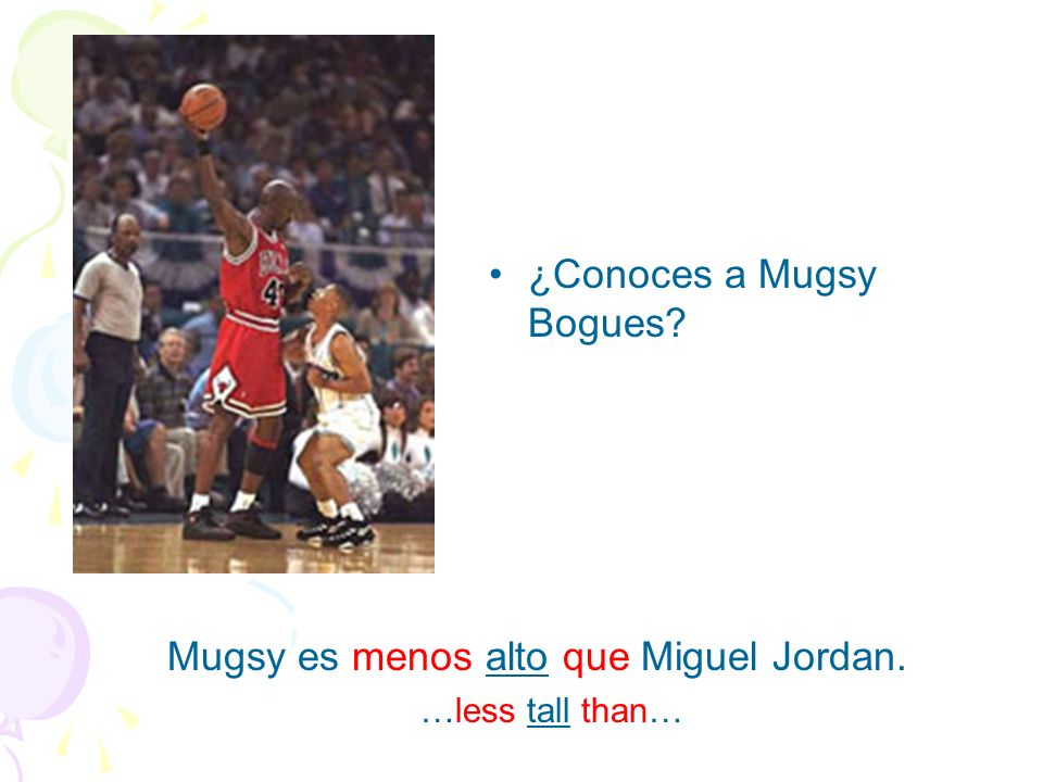 ¿Conoces a Mugsy Bogues