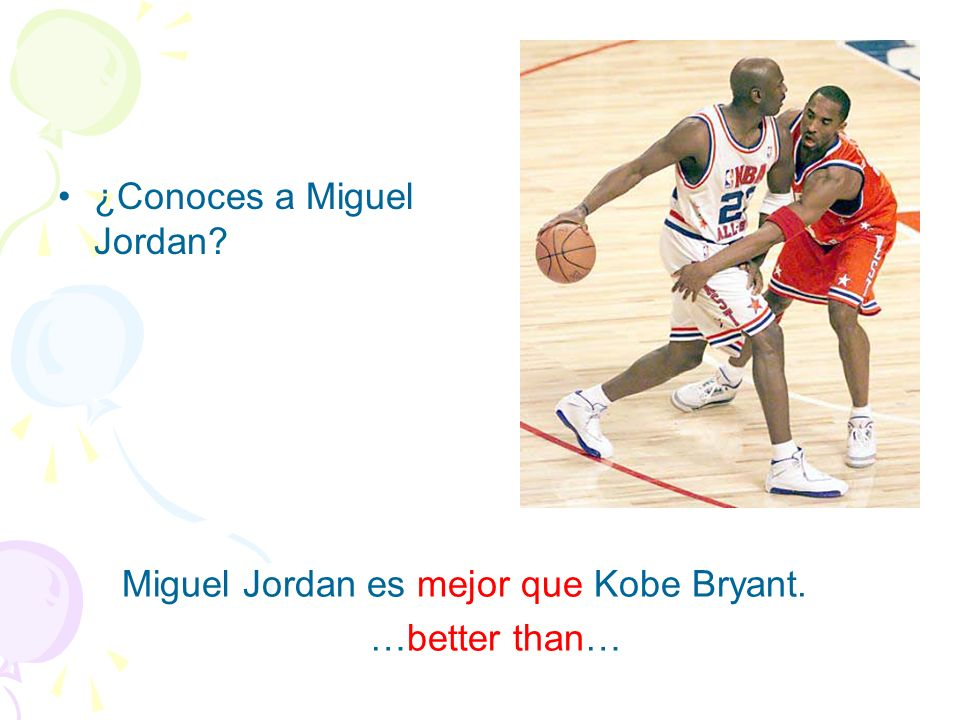 ¿Conoces a Miguel Jordan