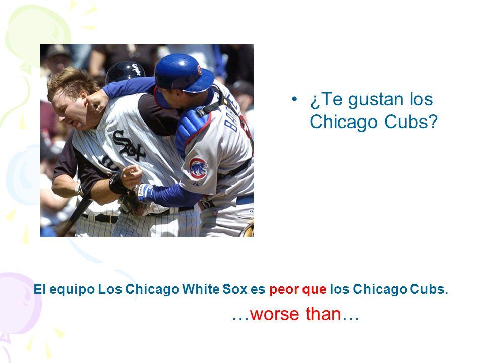 ¿Te gustan los Chicago Cubs