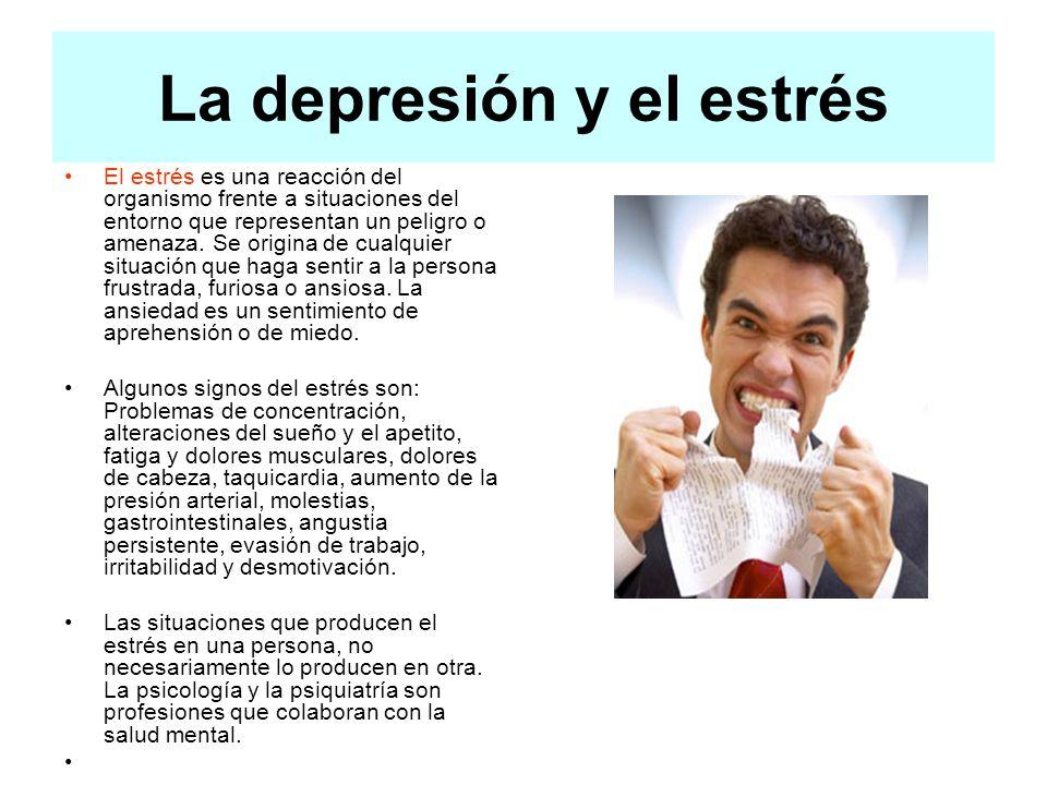 La depresión y el estrés
