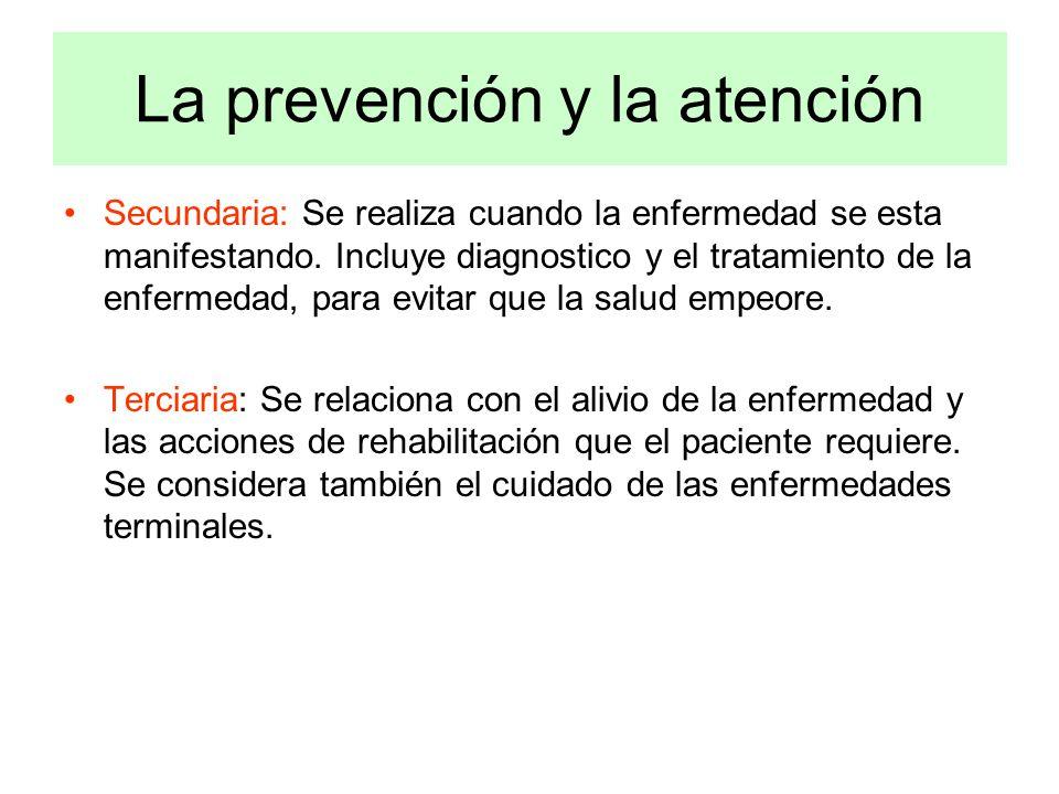 La prevención y la atención