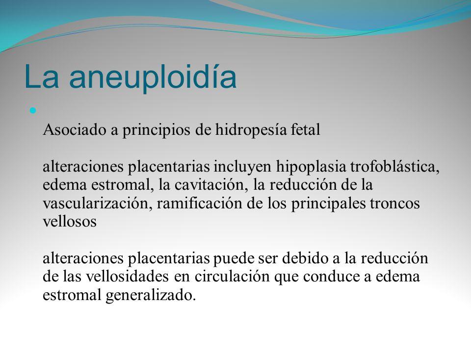 La aneuploidía