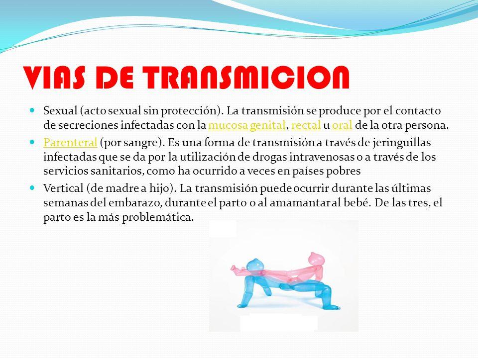 VIAS DE TRANSMICION