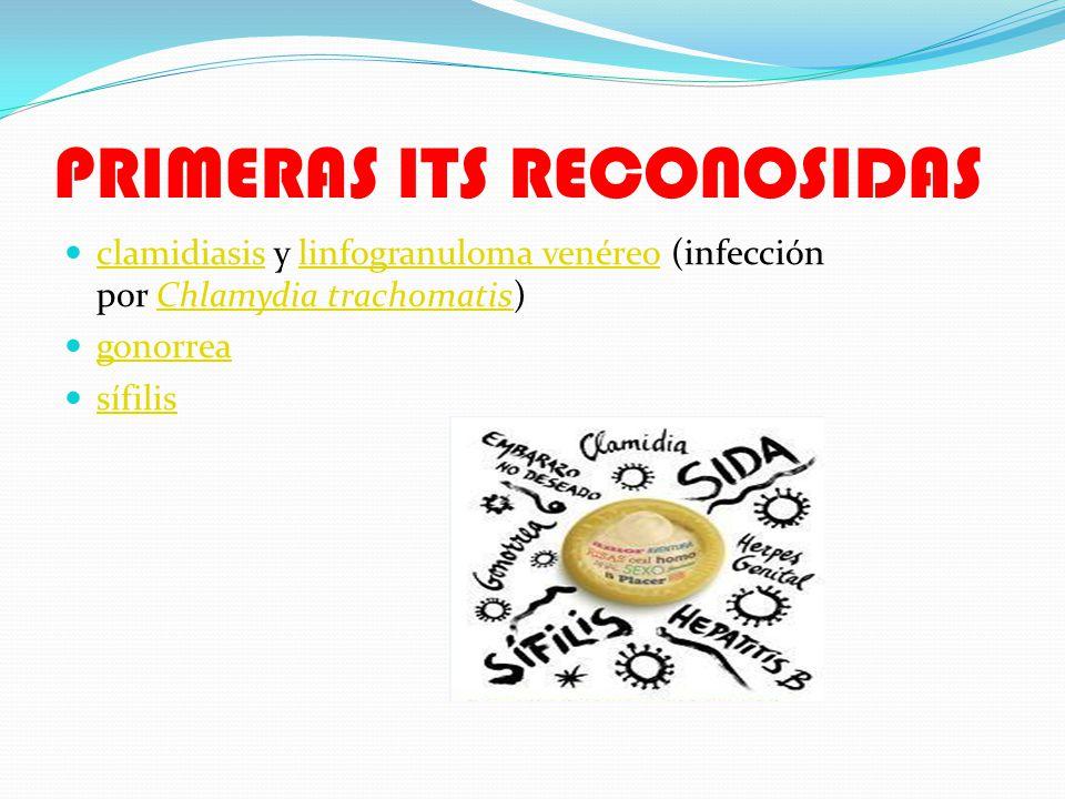 PRIMERAS ITS RECONOSIDAS