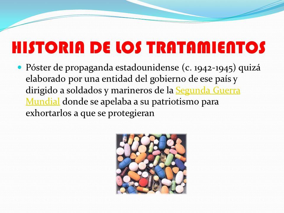 HISTORIA DE LOS TRATAMIENTOS