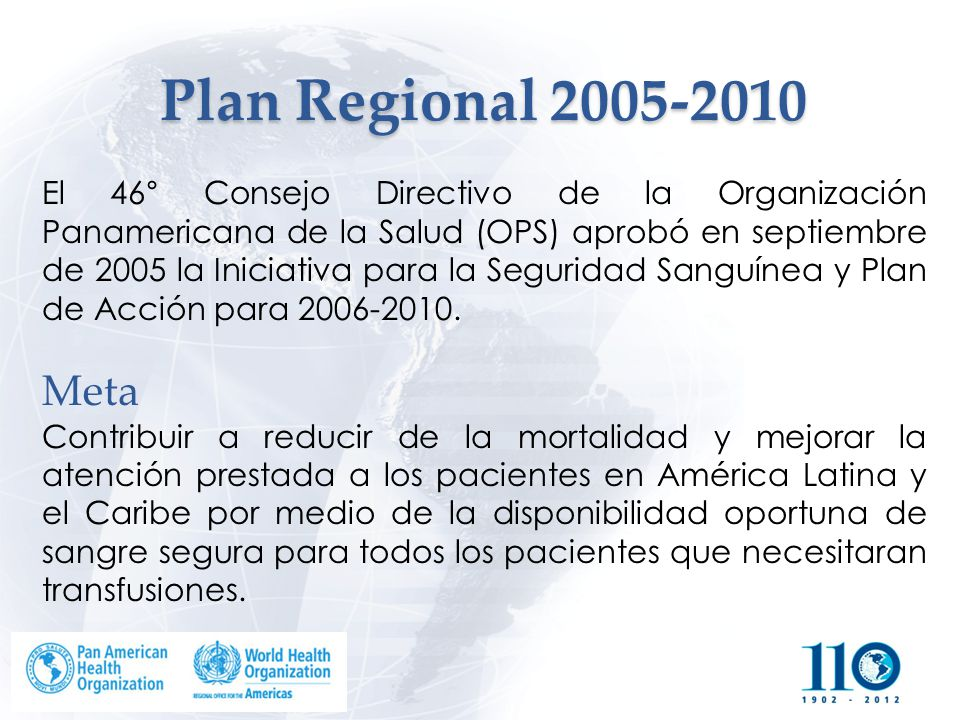 Plan Regional 2005-2010