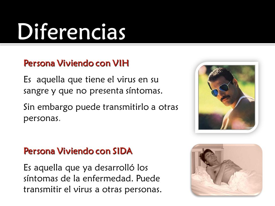 Diferencias Persona Viviendo con VIH