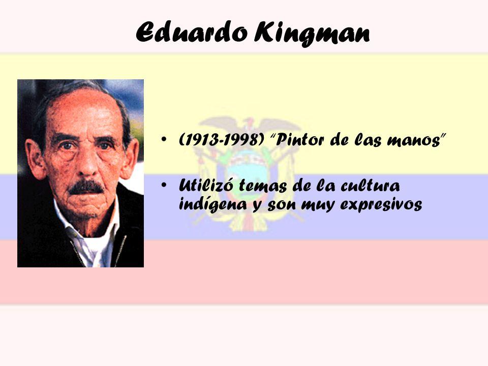 Eduardo Kingman (1913-1998) Pintor de las manos