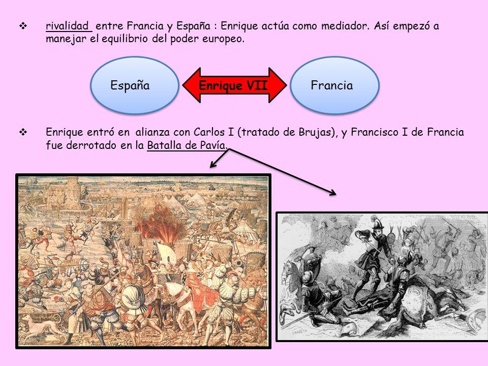España Enrique VII Francia
