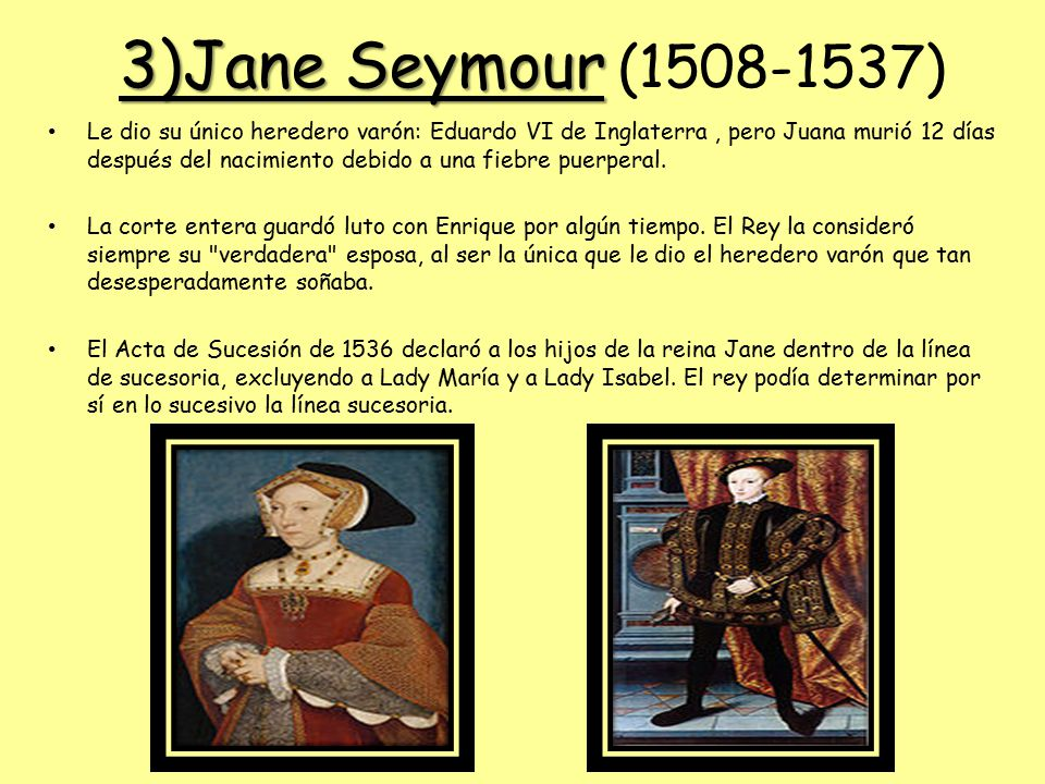 3)Jane Seymour (1508-1537)