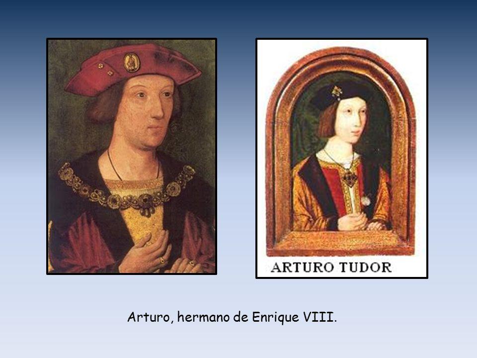 Arturo, hermano de Enrique VIII.