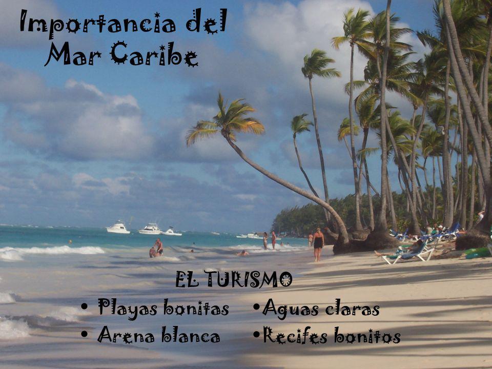 Importancia del Mar Caribe