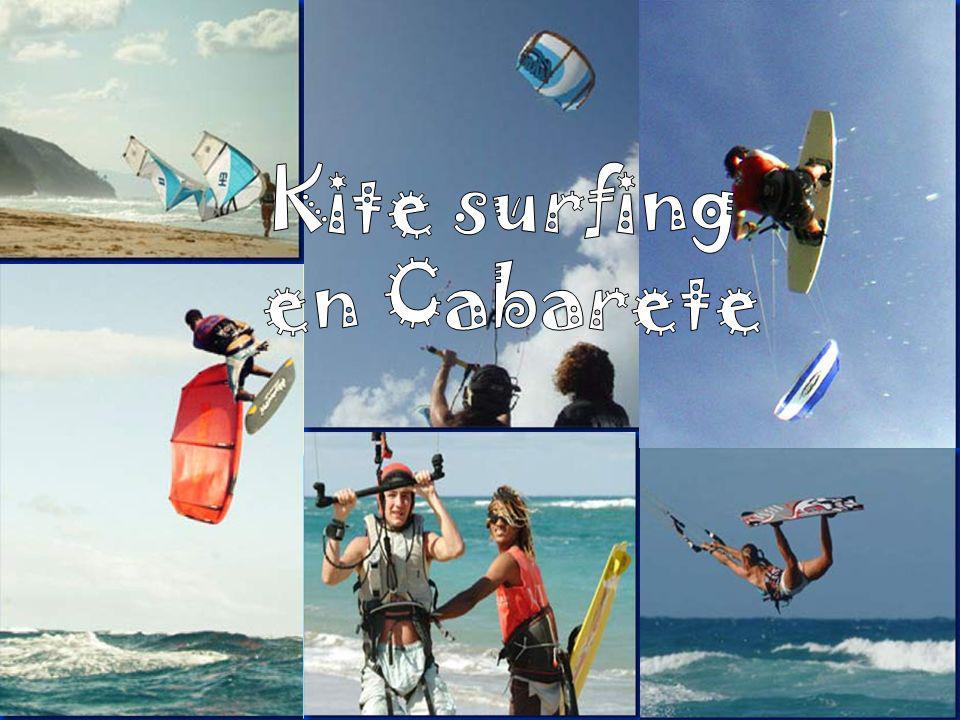 Kite surfing en Cabarete