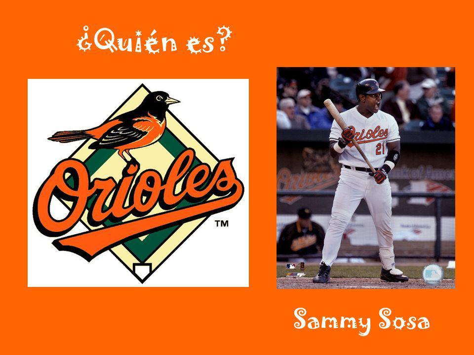 ¿Quién es Sammy Sosa