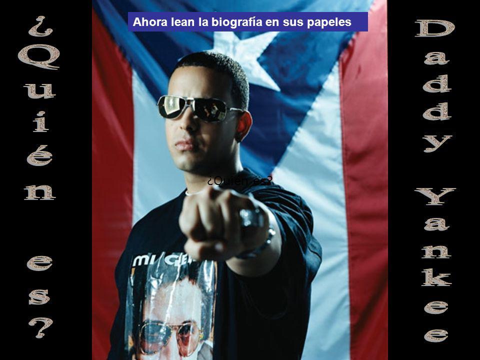 ¿Quién es Daddy Yankee Ahora lean la biografía en sus papeles