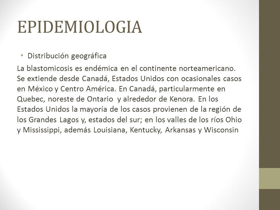 EPIDEMIOLOGIA Distribución geográfica