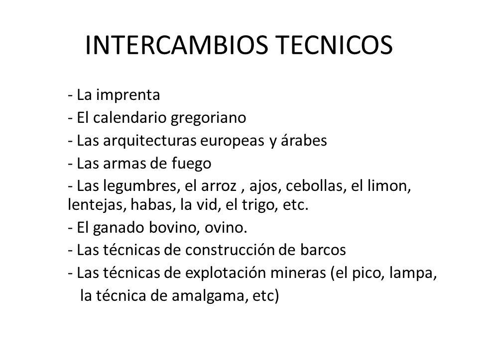 INTERCAMBIOS TECNICOS