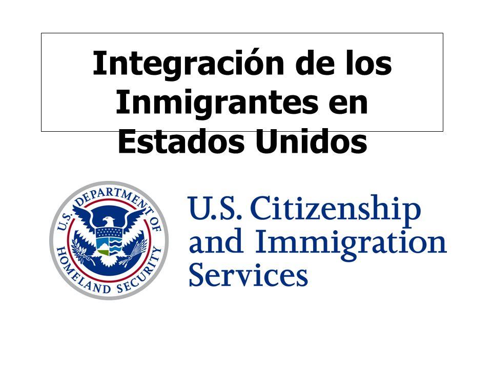 Integración de los Inmigrantes en Estados Unidos