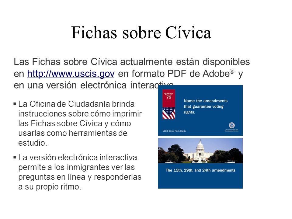 Fichas sobre Cívica