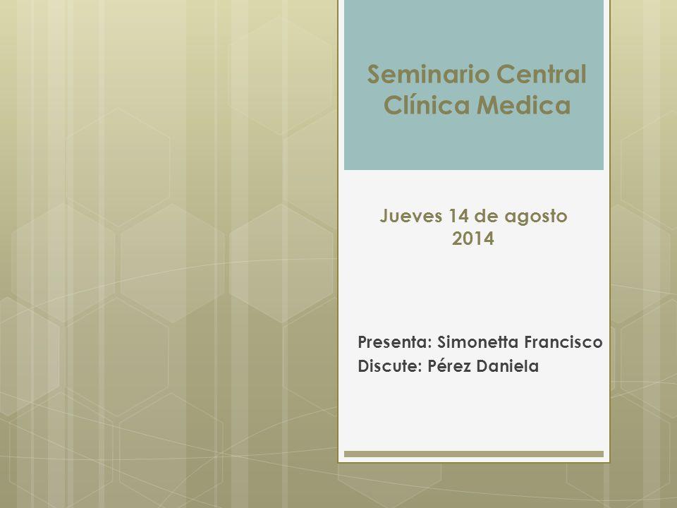 Presenta: Simonetta Francisco Discute: Pérez Daniela