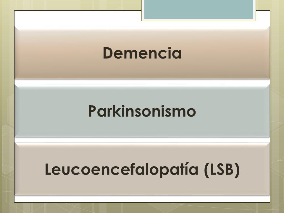 Leucoencefalopatía (LSB)
