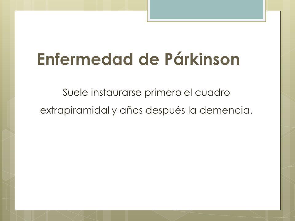 Enfermedad de Párkinson