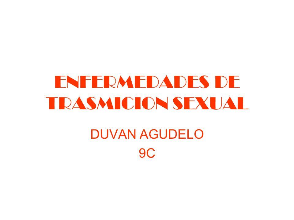 ENFERMEDADES DE TRASMICION SEXUAL