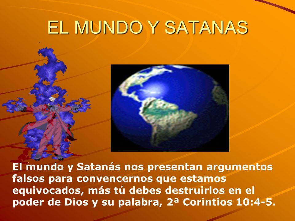 EL MUNDO Y SATANAS