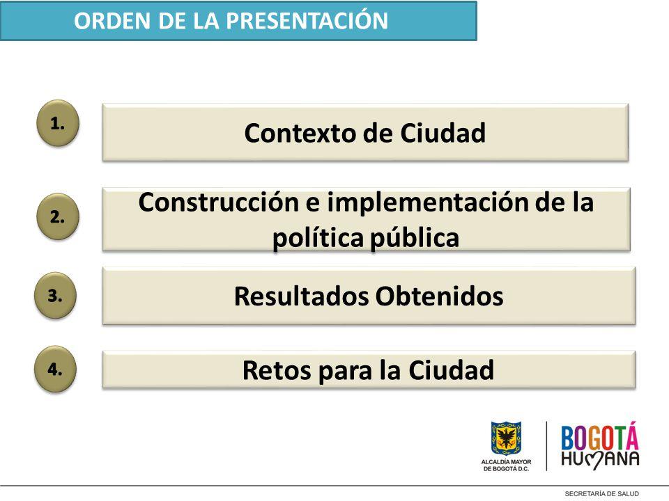 Construcción e implementación de la política pública