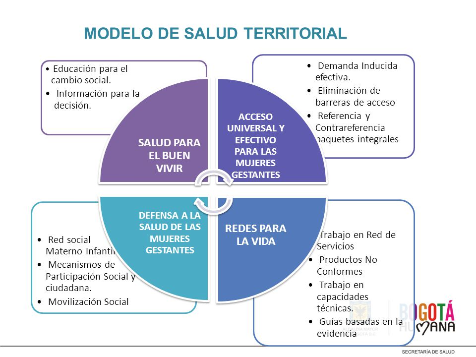 MODELO DE SALUD TERRITORIAL