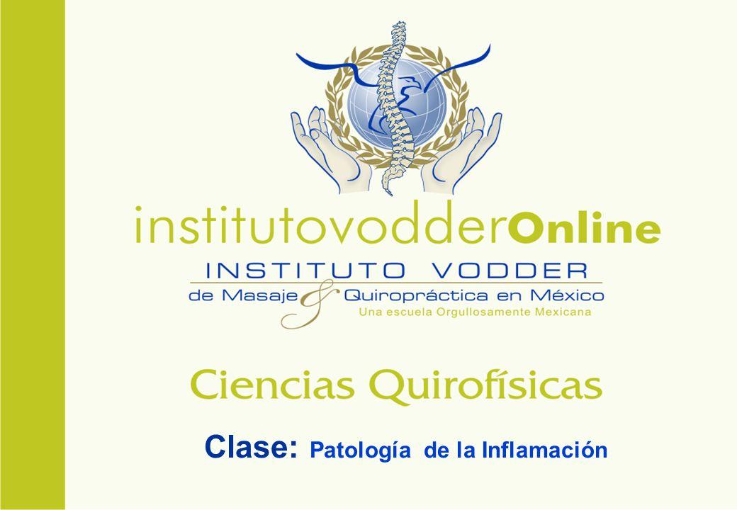 Clase: Patología de la Inflamación