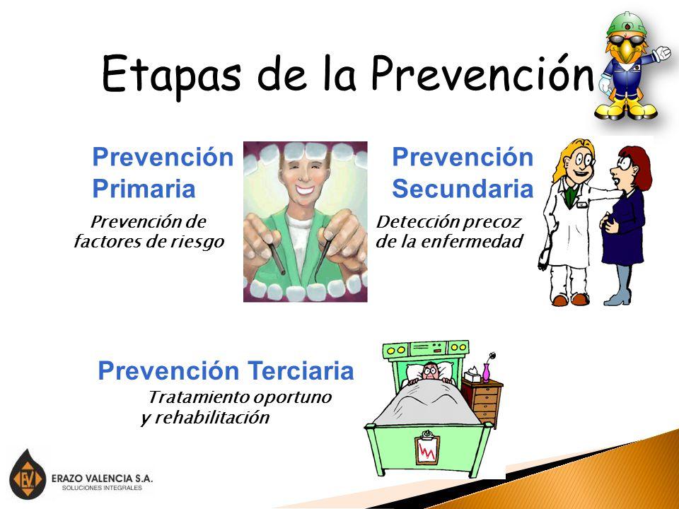 Etapas de la Prevención