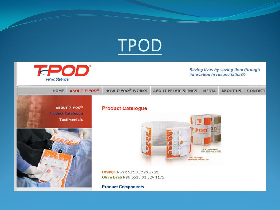 TPOD Pelvic orthotic device Pelvic orthotic device