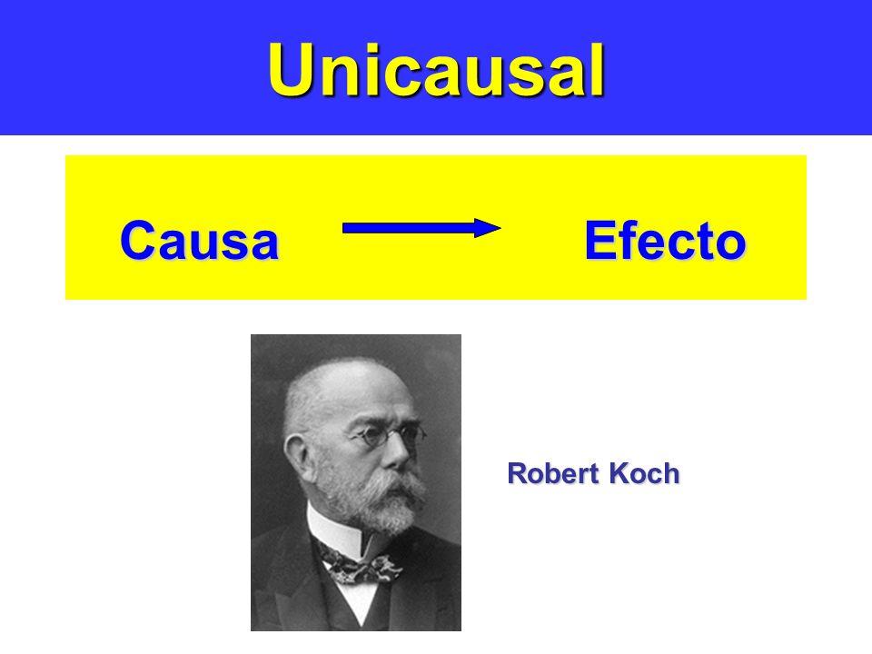 Unicausal Causa Efecto Robert Koch