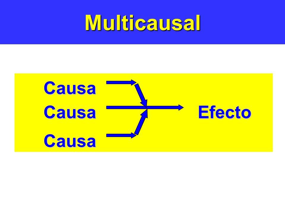 Multicausal Causa Efecto