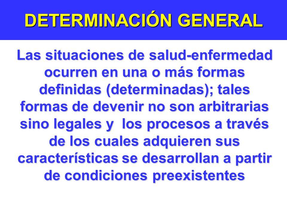 DETERMINACIÓN GENERAL