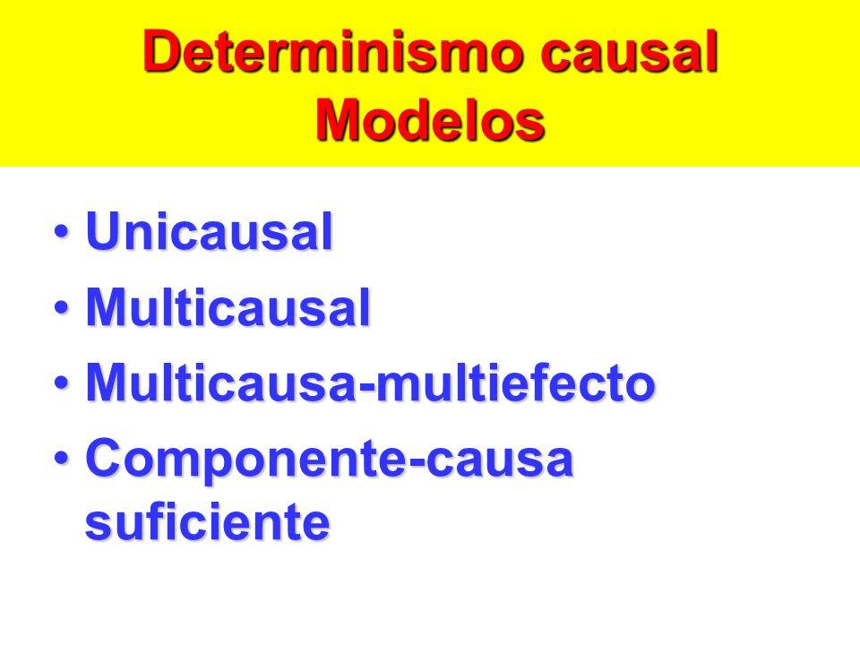 Determinismo causal Modelos