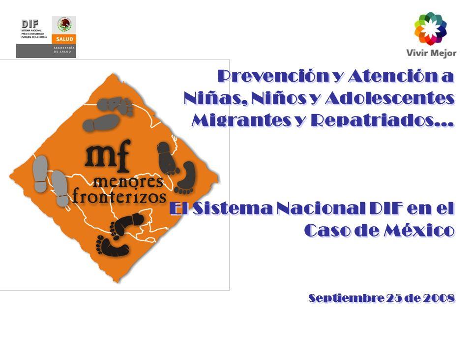 El Sistema Nacional DIF en el Caso de México