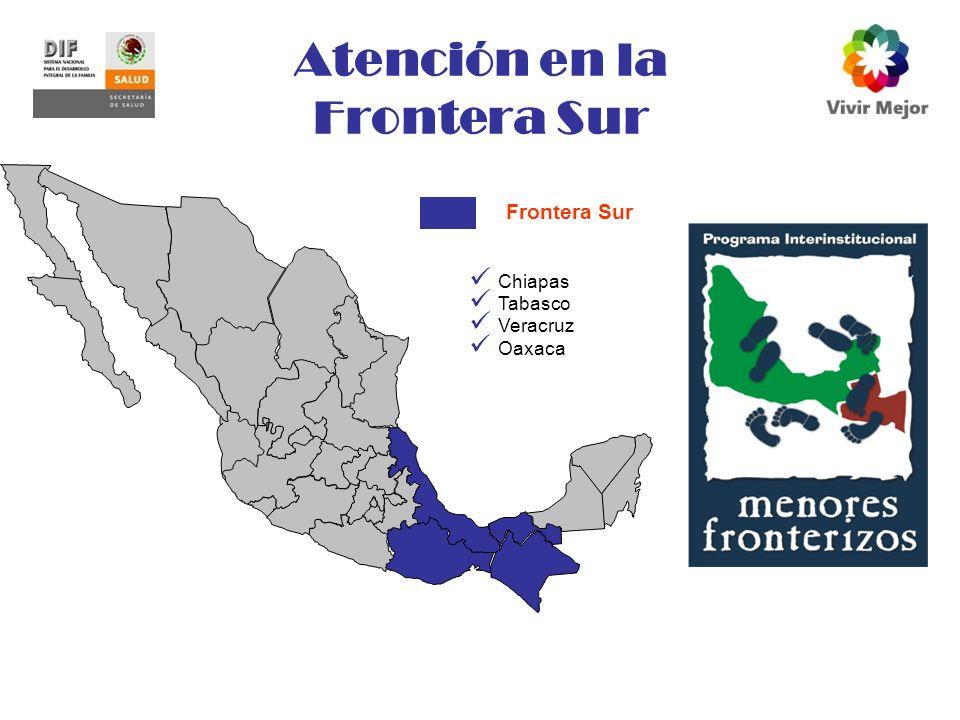 Atención en la Frontera Sur