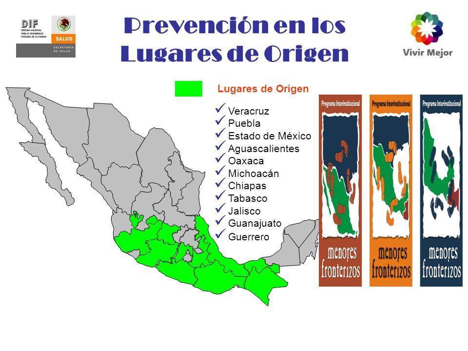 Prevención en los Lugares de Origen