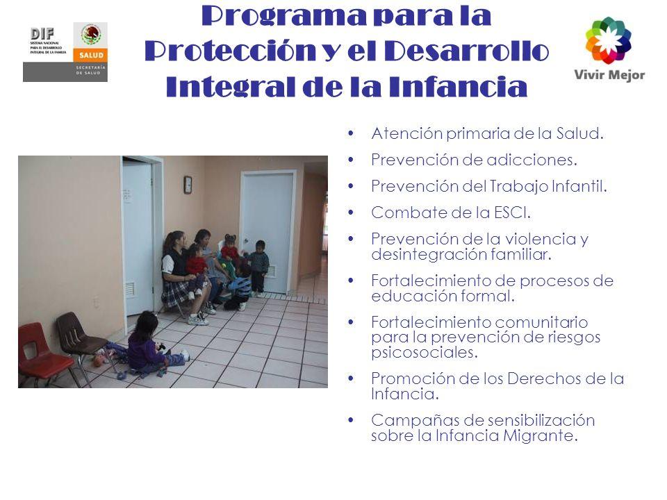 Programa para la Protección y el Desarrollo Integral de la Infancia