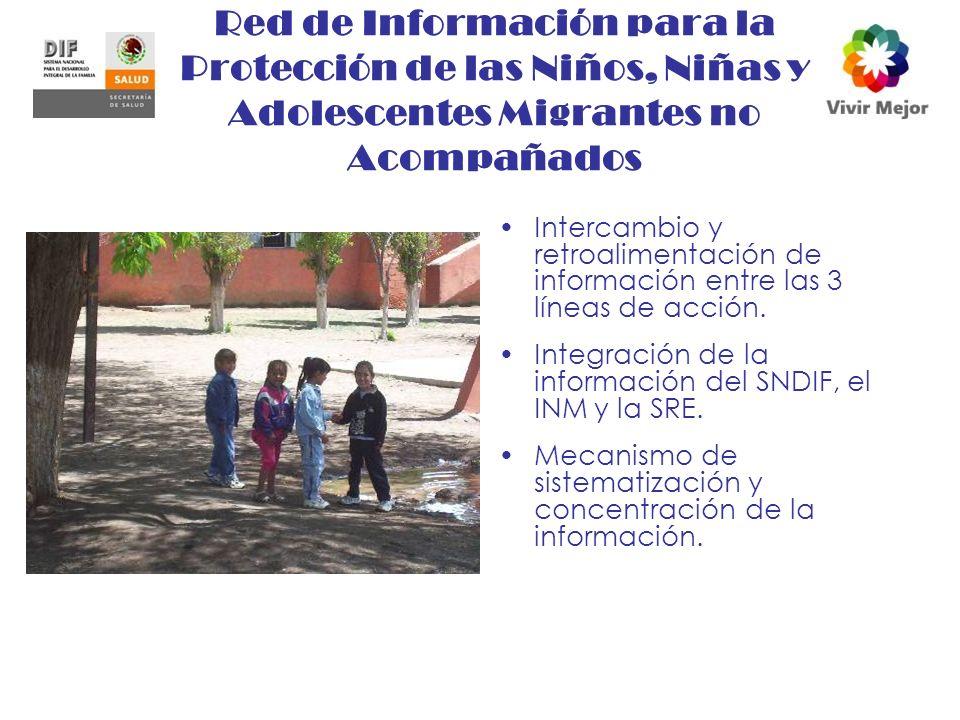 Red de Información para la Protección de las Niños, Niñas y Adolescentes Migrantes no Acompañados