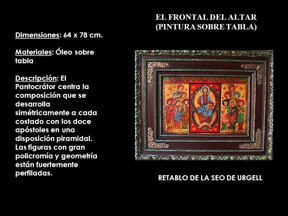 EL FRONTAL DEL ALTAR (PINTURA SOBRE TABLA)